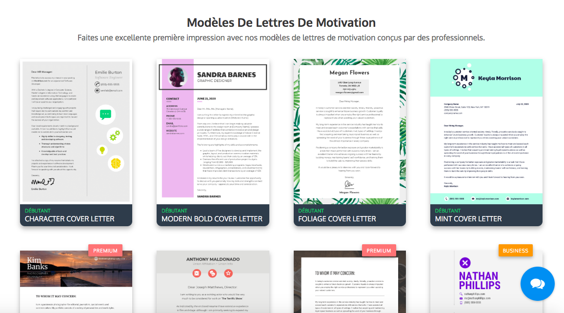Lettre De Motivation 10 Modeles Creatifs Astuces D Experts Pour