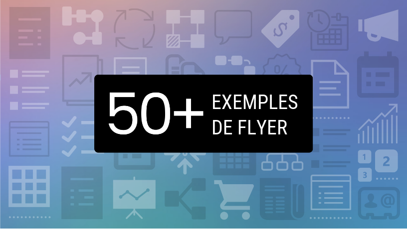 Header article exemples de flyer