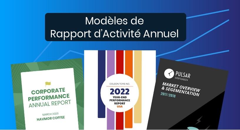Rapport D Activité Annuel 56 Modèles Personnalisables