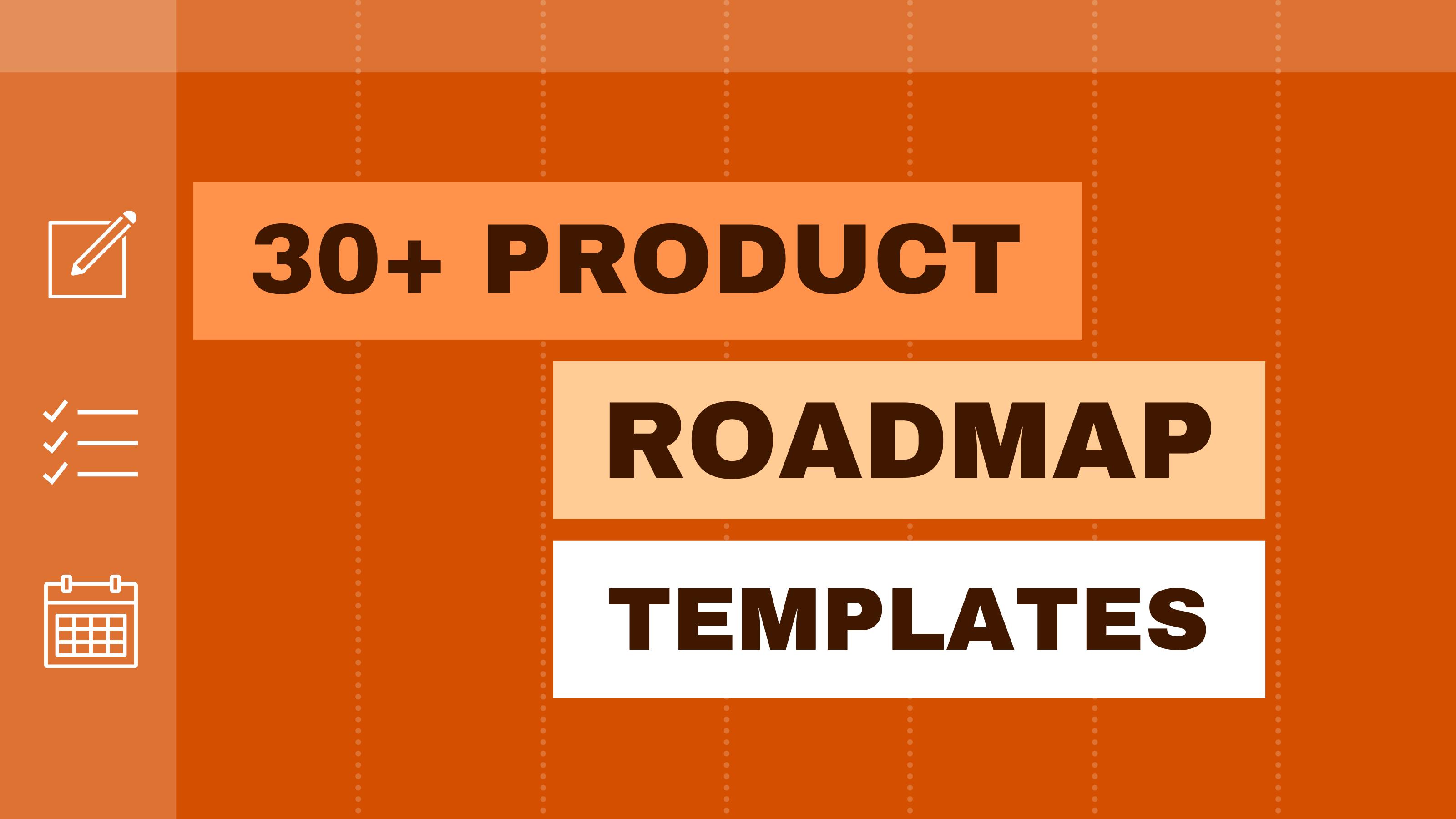 Modèle Roadmap Produits