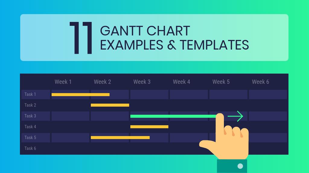 11 exemples et modèles de diagrammes de Gantt pour une gestion de projet efficace