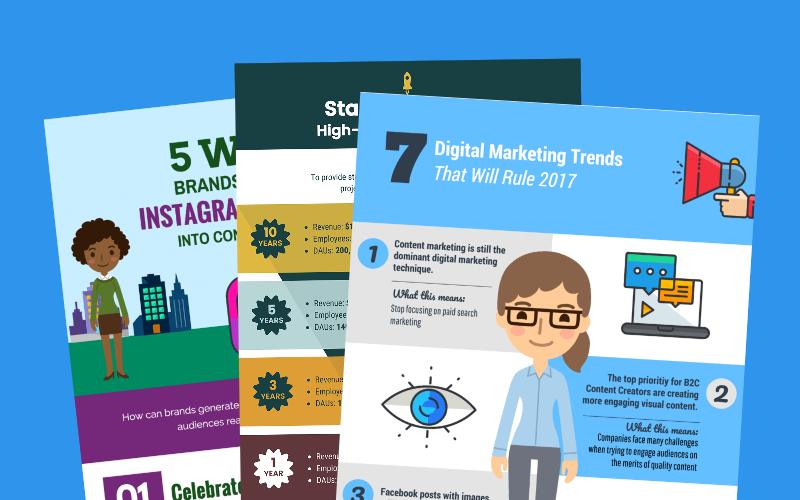 15 modèles et astuces d'infographies marketing pour booster l'engagement de votre audience